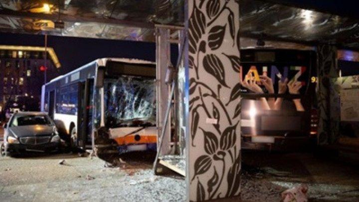Неуправляемый автобус убил человека в немецком городе Висбаден