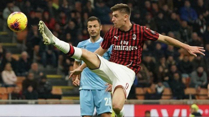 «Милан» потерпел поражение от «Лацио» в матче чемпионата Италии по футболу