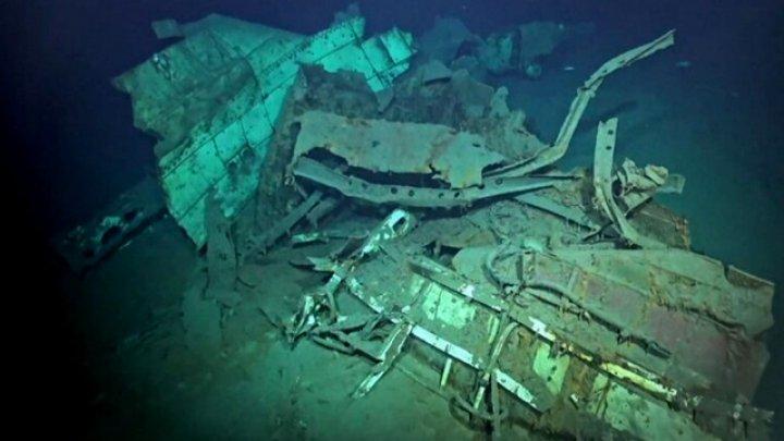 Ученые нашли самый глубоководный остов корабля