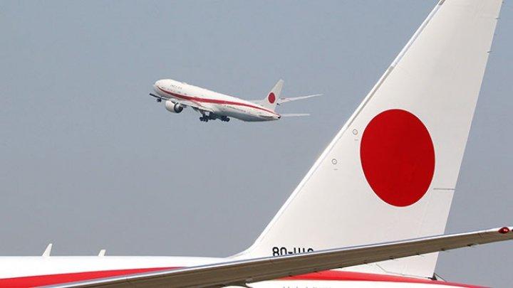 В самолете премьер-министра Японии произошел пожар