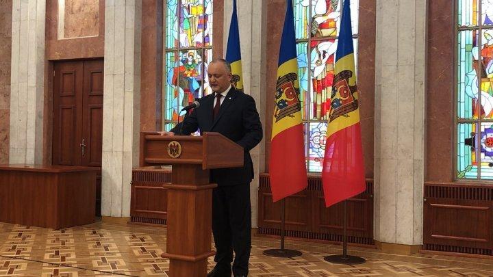 Игорь Додон зовёт парламентские фракции на переговоры
