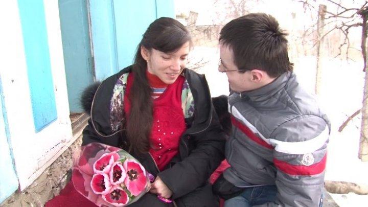 Супруги из Фалешт с особыми потребностями, стали родителями