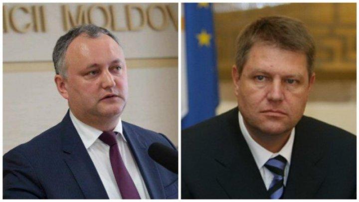 Игорь Додон поздравил Клауса Йоханниса с победой на выборах: Румыны сделали важный выбор