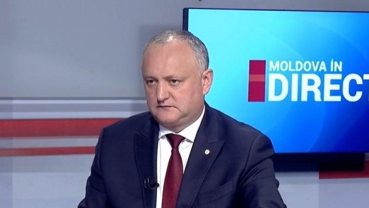 Додон о конкурсе на должность генпрокурора: Перед его аннулированием, кандидаты прошли через кабинет Санду
