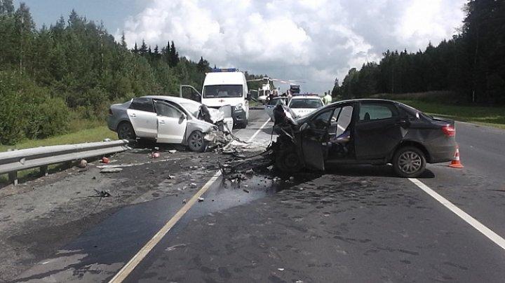 ДТП недалеко от Комрата: на месте находятся четыре кареты скорой помощи (ФОТО)