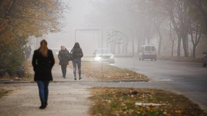 Туманное утро, небо в облаках: прогноз погоды в Молдове на 21 октября