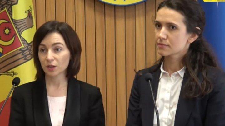 Майя Санду: У меня пока нет списка кандидатов в Генпрокуроры