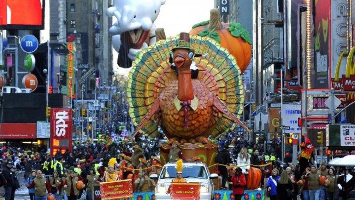 И на земле, и в космосе: американцы отмечают День Благодарения (ВИДЕО)