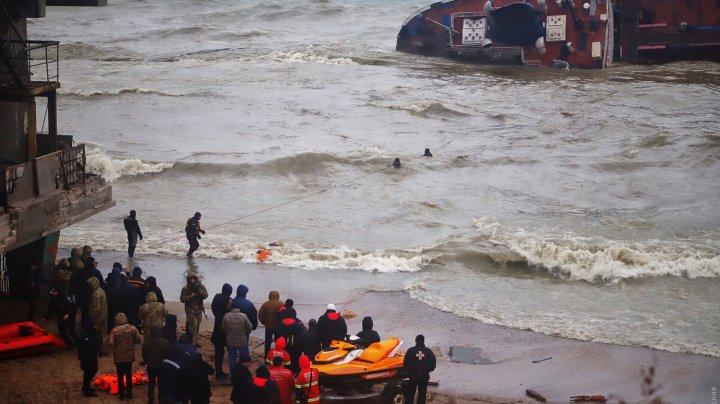Терпящий бедствие у берегов Одессы танкер перевернулся (ВИДЕО)