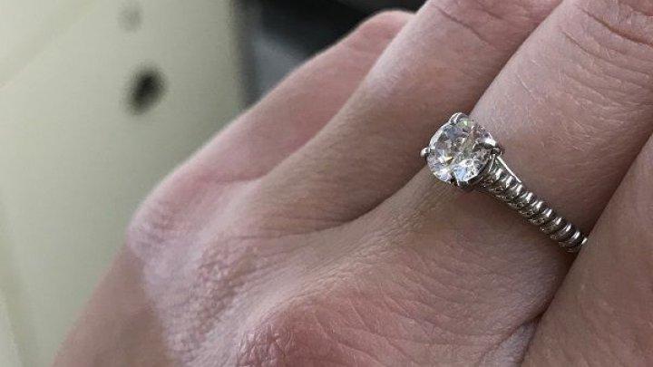 Кольцо с бриллиантом ушло с молотка за баснословную сумму