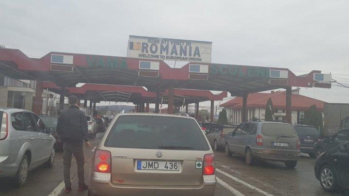 Попасть в Молдову не так просто: огромный затор на таможне Скулень