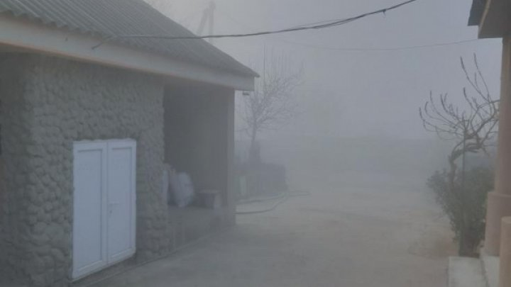 Улицы Вулканешт заволокло дымом: на окраине города снова горит свалка
