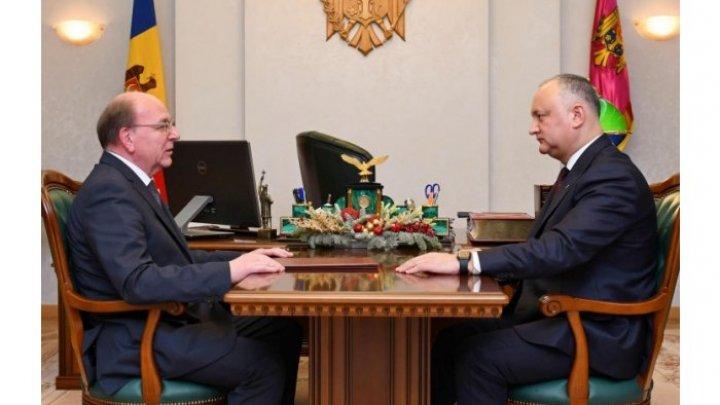 Игорь Додон готовится к новому визиту в Москву