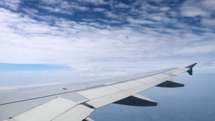 Пьяный россиянин требовал открыть дверь самолета в полете. После посадки его задержали