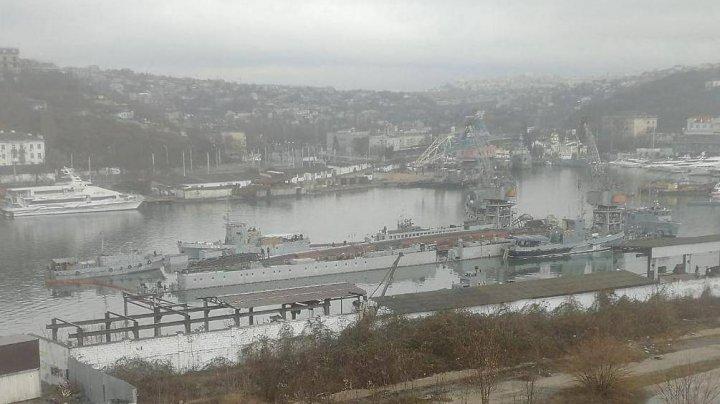 В Черном море затонула, а затем всплыла списанная подлодка