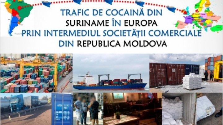 Перевозили кокаин тоннами: компанию из Молдовы использовали для контрабанды наркотиков из Южной Америки в Европу