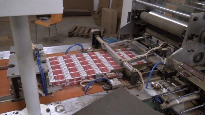 Добыча на 19 млн евро: уроженцы Молдовы основали подпольный цех по производству сигарет в Чехии