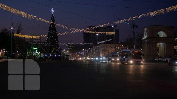 Ион Чебан: В центре Кишинева не хватает праздничных огней