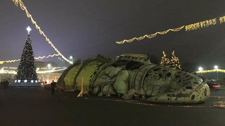 Появившийся в центре столицы дракон стал причиной отставок в столичной мэрии (ФОТО)