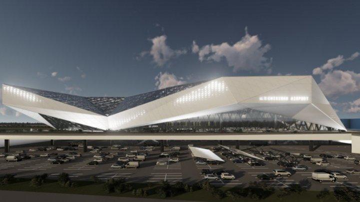 """В кишинёвском аэропорту построят новый терминал с """"рукавами"""": как он будет выглядеть (ФОТО)"""