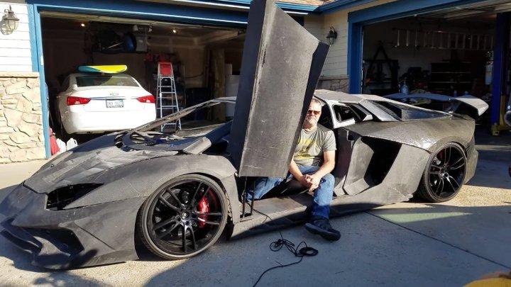 "Отец и сын из штата Колорадо ""распечатали"" Lamborghini и обменяли её на настоящую машину"