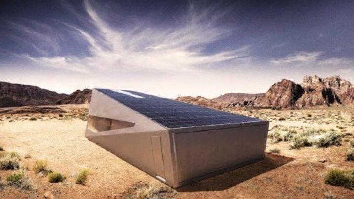 """Для Tesla Cybertruck придумали """"кибергараж"""" с солнечными панелями"""