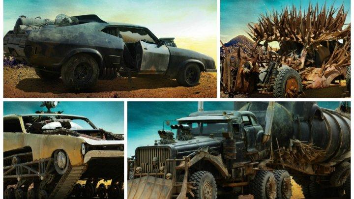 """Вдохновленные """"Безумным Максом"""": группа механиков производит реплики на машины из фильма"""