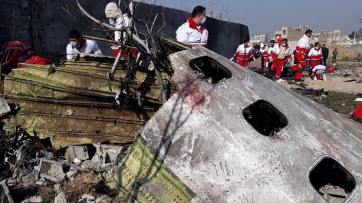 Спасатели с места катастрофы украинского самолёта: опознать жертв невозможно