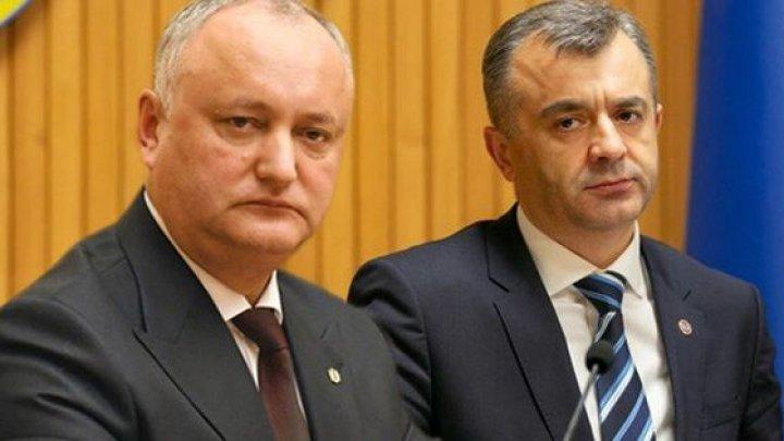 Игоря Додона и Иона Кику обвиняют в незаконной продаже участка земли на кладбище Румынских героев