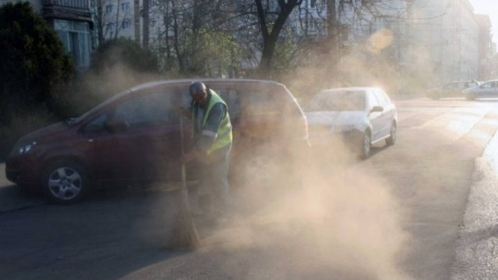 В Бельцах загрязнен воздух: метеорологи объявили желтый код