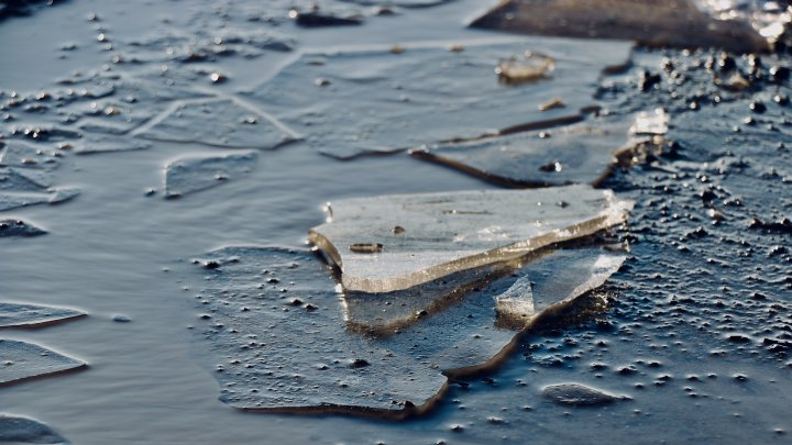 """""""Я лёгкий"""" или что гонит молдавских рыбаков на тонкий лёд водоёмов"""