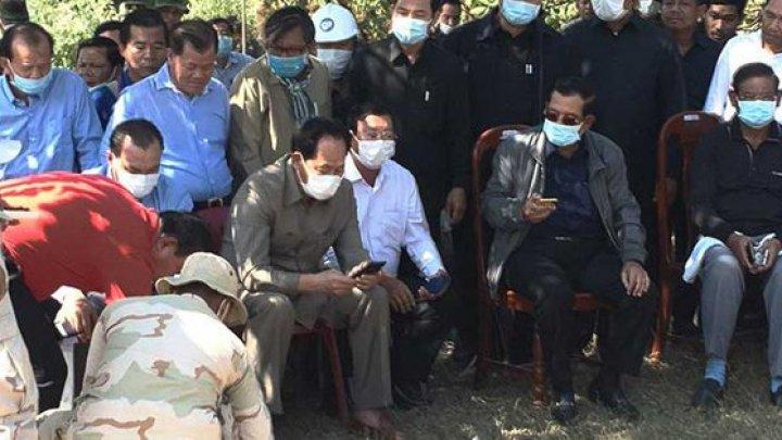 В Камбодже 36 человек погибли под завалами строящегося здания