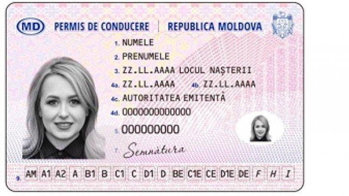 С 1 января 2020 года в Молдове действуют водительские права нового образца