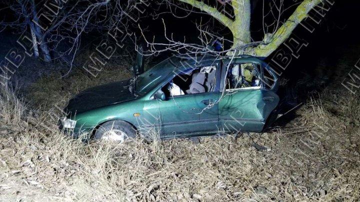 Машину смяло от удара: автомобиль влетел в дерево на дороге Днестровск – Первомайск (ФОТО)