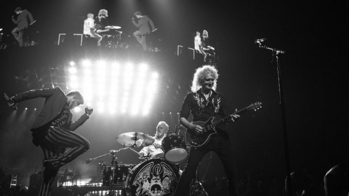Queen и Адам Ламберт дали благотворительный концерт в Австралии