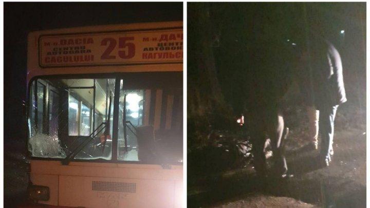 В Бельцах автобус сбил пьяного мужчину на объездной дороге