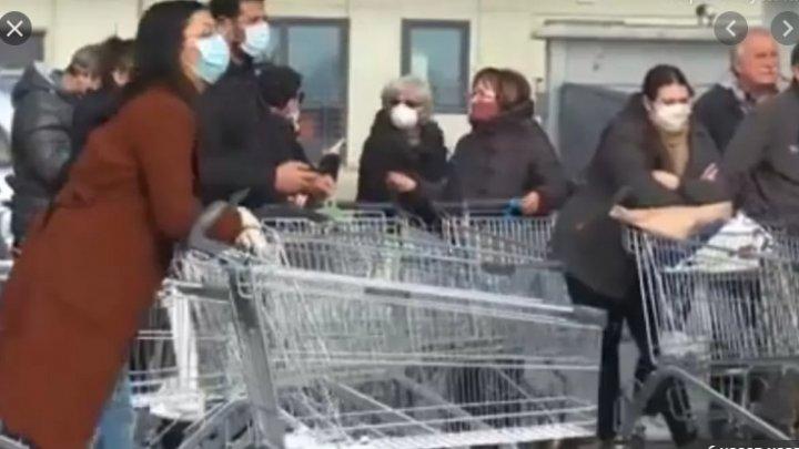 Паника в Италии из-за коронавируса: наши сограждане рассказывают, что творится на местах