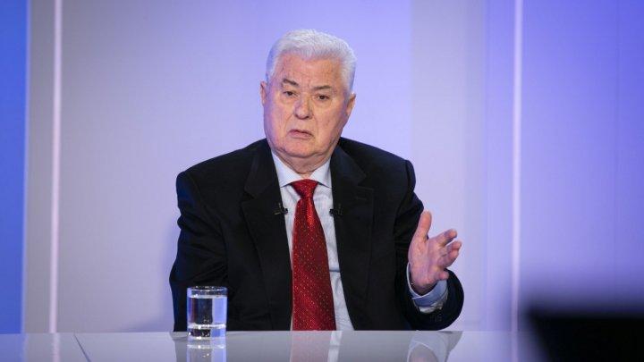 Лидер ПКРМ Владимир Воронин: отток депутатов из Демпартии продолжится