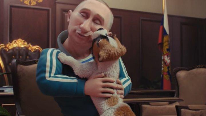В Сети набирает популярность анимационный клип на новую песню про Путина (ВИДЕО)