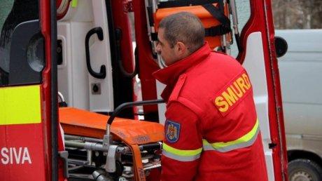 Жительницу Фэлештского района, пострадавшую в пожаре, привез в Кишинев экипаж SMURD