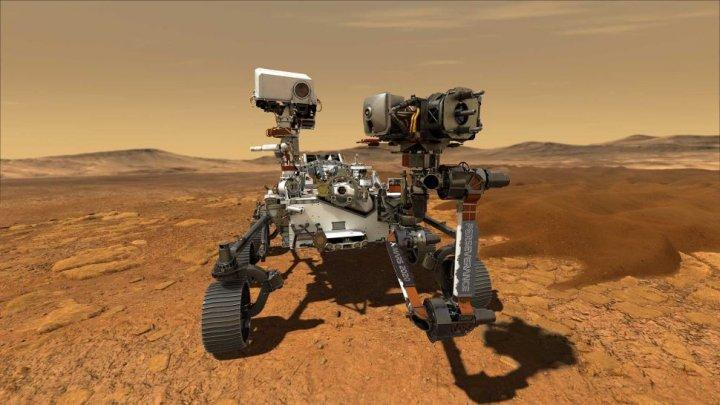 Семиклассник из Вирджинии придумал имя для нового марсохода NASA