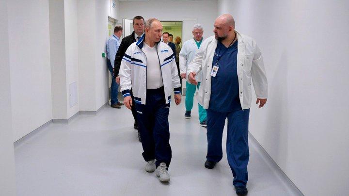 У главврача больницы в Коммунарке, где неделю назад был Путин, обнаружили коронавирус