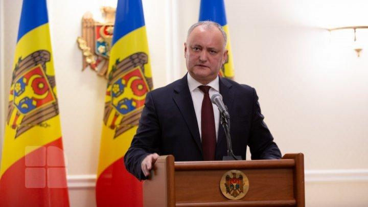 Президент рассказал сколько в Молдове тестов на выявление коронавируса и как надолго их хватит