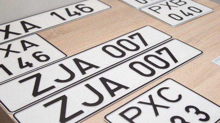 В Приднестровье приостановили выдачу нейтральных автомобильных номеров