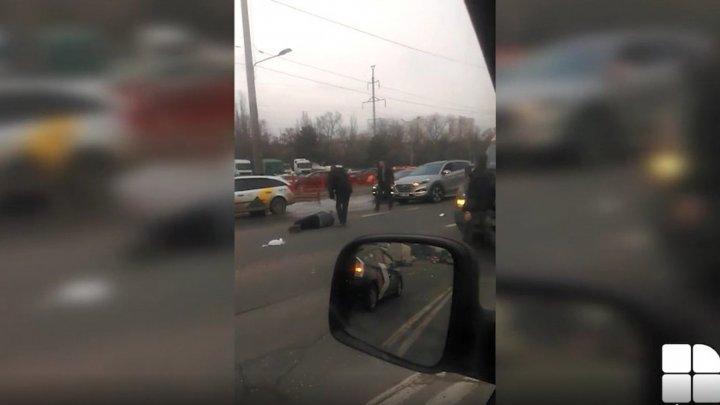 Машина такси сбила 60-летнего мужчину в столице (ВИДЕО)