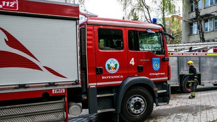 В Кишиневе спасли 70-летнего мужчину из горящей квартиры
