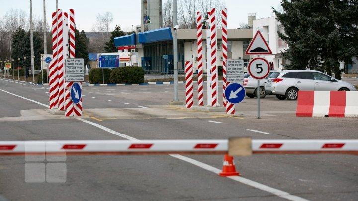 На границе Молдовы закрылись ещё два таможенных пункта