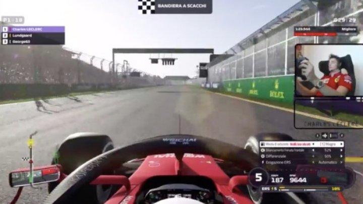 Шарль Леклер выиграл виртуальный Гран-при Австралии