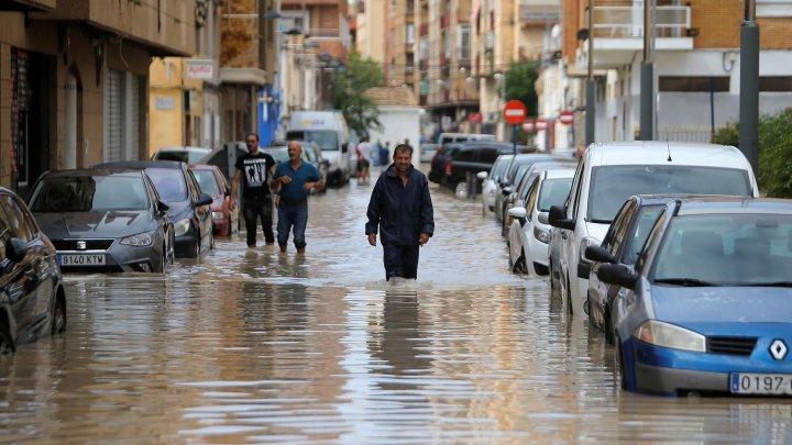 Испания: под воду ушли множество населенных пунктов провинции Кастельон