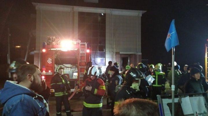 В доме престарелых на западе Москвы произошел пожар: есть погибшие